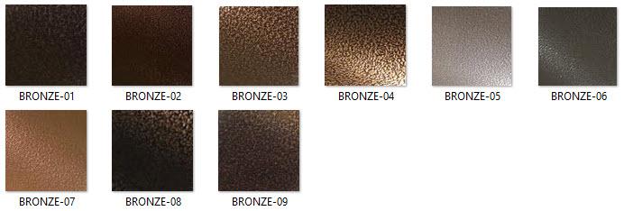 Finim to - Peinture couleur bronze ...
